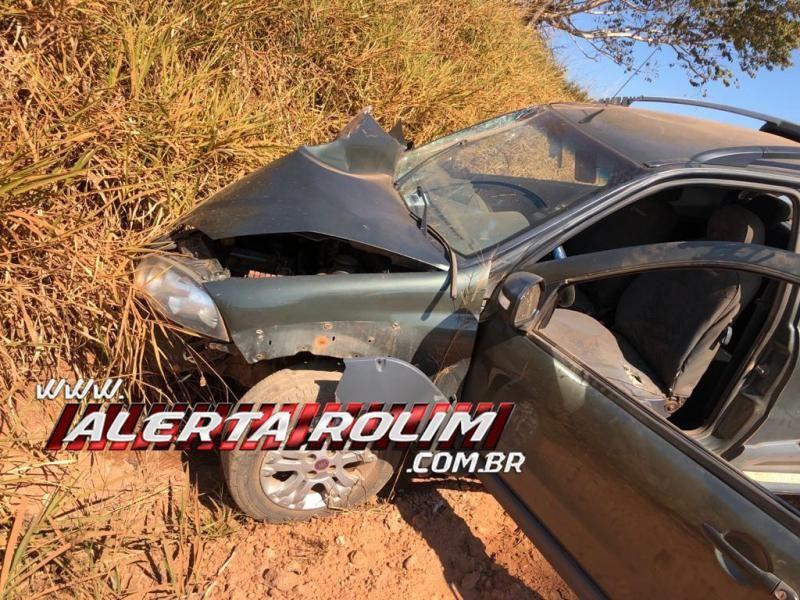 ATUALIZADA - Homem morre no local e mãe e filha são socorridas em estado grave em acidente na zona rural de Parecis