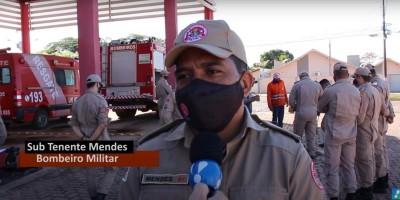Corporação celebra dia dos bombeiros militares com formatura e instrução em Rolim de Moura - Vídeo