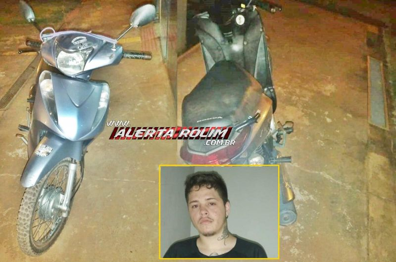 Dupla ameaça mulheres com arma e faca e um deles durante a fuga derruba motociclista para roubar moto e acaba preso pela PM