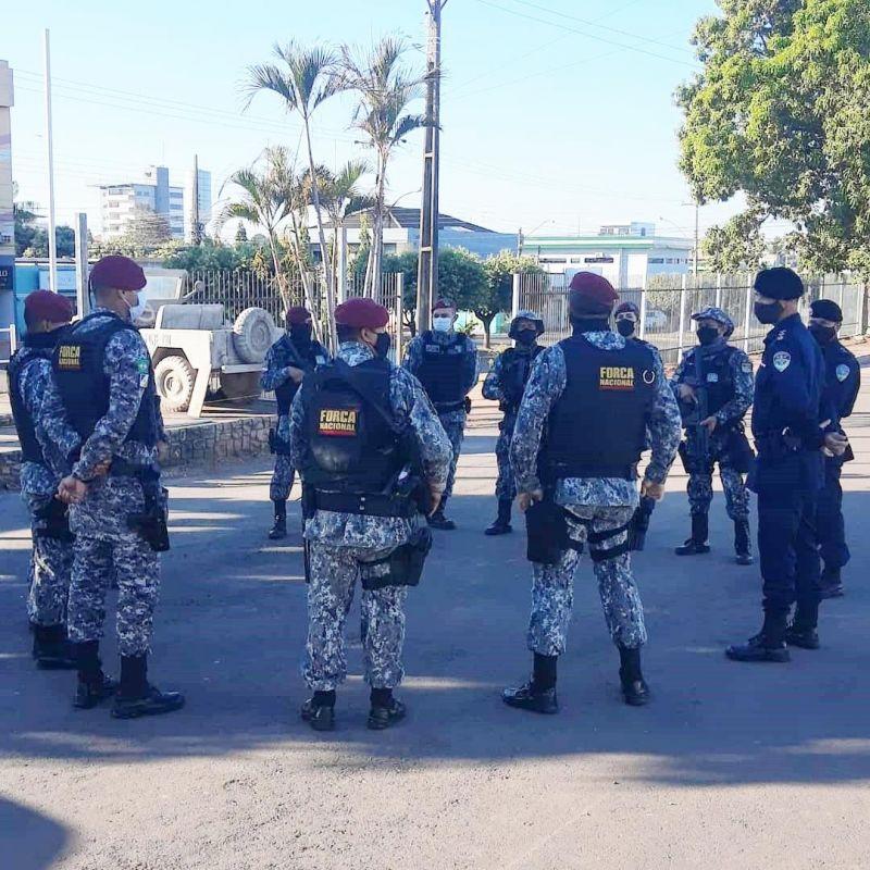 Força Nacional irá atuar junto com a PM de Rolim de Moura em operações na região da zona da mata