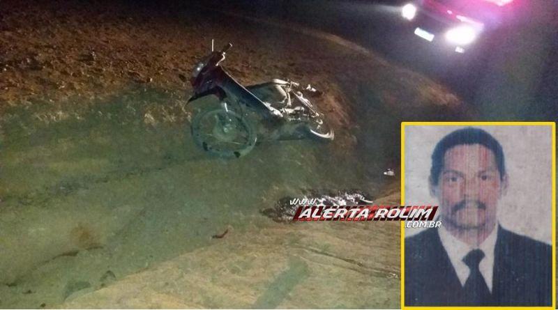 Homem morre após sofrer acidente de moto em Alto Alegre dos Parecis