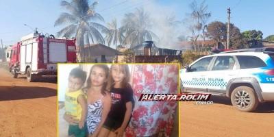 Moradora de Rolim de Moura que perdeu a casa em incêndio consegue através da ajuda das pessoas, material para construir e mobiliar uma nova residência