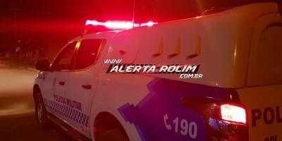 Motociclista atropela mulher que atravessava rua em Rolim de Moura e foge do local sem prestar socorro à vítima