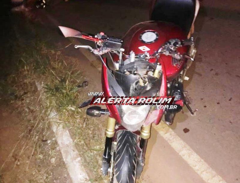 Motociclista sofre acidente e foi socorrido pelos bombeiros após colidir em capivara na RO-010 entre Rolim de Moura a Nova Estrela