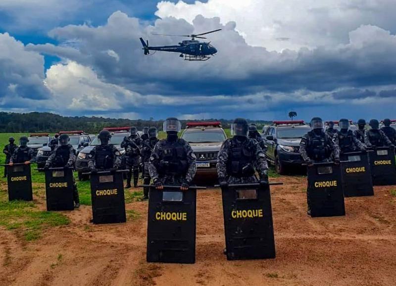 Núcleo de Operações Aéreas é destaque no reforço das ações de Segurança Pública de Rondônia