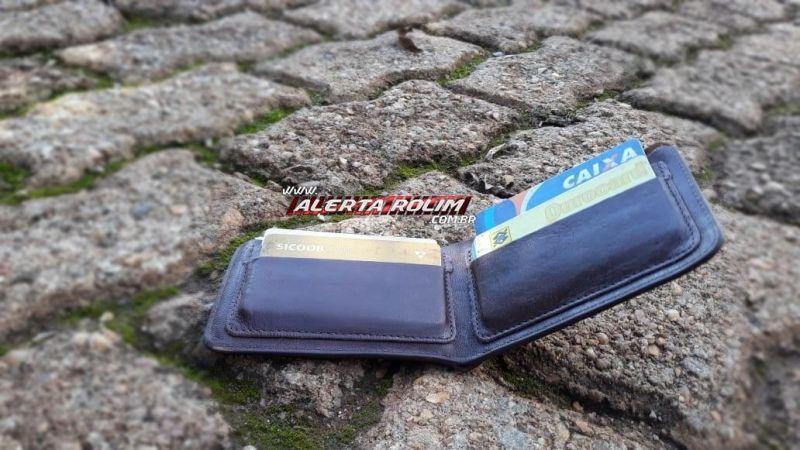 Procura-se por carteira com documentos perdidos em Rolim de Moura em nome de Geraldo Abilho do Santos
