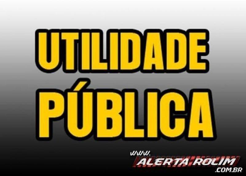 Procura-se por documentos perdidos em nome de Eliani Pereira da Silva, em Rolim de Moura