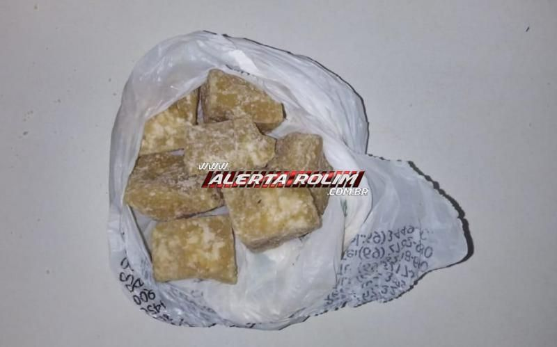 Suspeito de traficar drogas em Parecis é preso pela Polícia Militar
