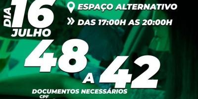 Vacina pessoas com 48 a 42 anos nesta sexta-feira em Rolim de Moura