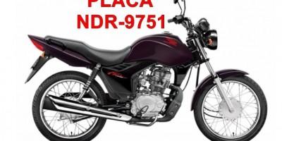 Moto é furtada em pátio de posto de combustível durante essa madrugada em Rolim de Moura