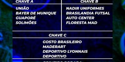 Copa Rondo Esporte de Futsal Amerolim terá início nesta sexta-feira em Rolim de Moura