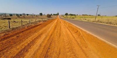 Governo de Rondônia já concluiu 75% da obra da ciclovia na RO-479 em Rolim de Moura