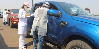 Governo realiza barreira sanitária para tentar evitar variante delta