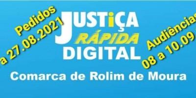 Justiça Rápida Digital pelo WhatsApp será realizada em  Rolim de Moura
