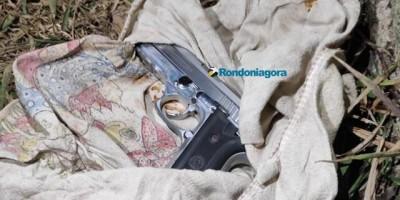 PM encontra arma de sargento morto em assalto