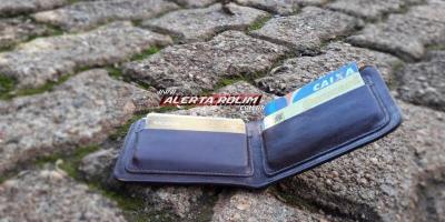 Procura-se por carteira com documentos em nome de Hugo Ferreira Santana