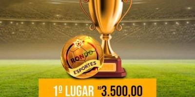 Torneio Rondo Esportes de Futebol em Rolim de Moura pagará uma das maiores premiações do estado