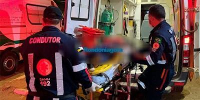 Assaltante é baleado duas vezes por PM após roubar bolsa de mulher em bar