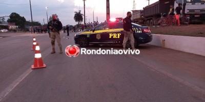 Caminhoneiros continuam com bloqueios em estradas de Rondônia, veja os pontos desta sexta-feira