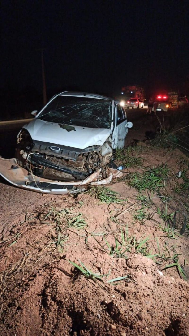 Acidente com vítima fatal na entrada de Espigão do Oeste é registrado nesta noite de segunda