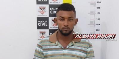 Acusado de roubo em Cacoal é preso durante trabalho em conjunto da Polícia Civil e Polícia Militar em Migrantinópolis/RO