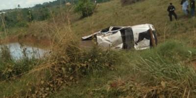 Alta Floresta – Idoso morre após capotar caminhonete na LH 47-5