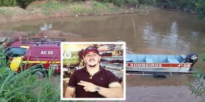 Bombeiros retomam buscas pelo morador de Rolim de Moura que desapareceu nas águas do Rio Machado