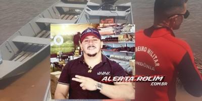 Corpo de funcionário da empresa Moto Motores de Rolim de Moura que estava desaparecido nas águas do Rio Machado é encontrado