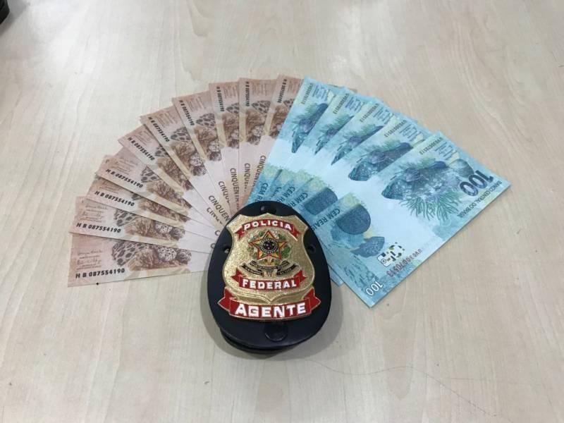 Homem é preso em Vilhena, após receber pelos Correios cédulas falsas compradas através da internet