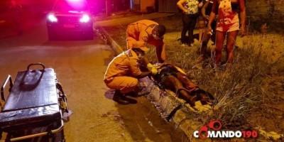 Homem tenta matar esposa com mais de 10 facadas em frente dos filhos em Ji-Paraná
