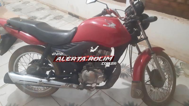"""Jovem empresta moto para """"amigo"""" que desapareceu com o veículo em Rolim de Moura"""