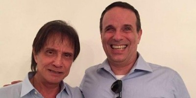 Morre filho de Roberto Carlos , Dudu Braga