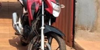 Moto, de morador de Rolim de Moura, que foi furtada em