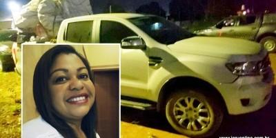 Mulher morre durante roubo de caminhonete em RO
