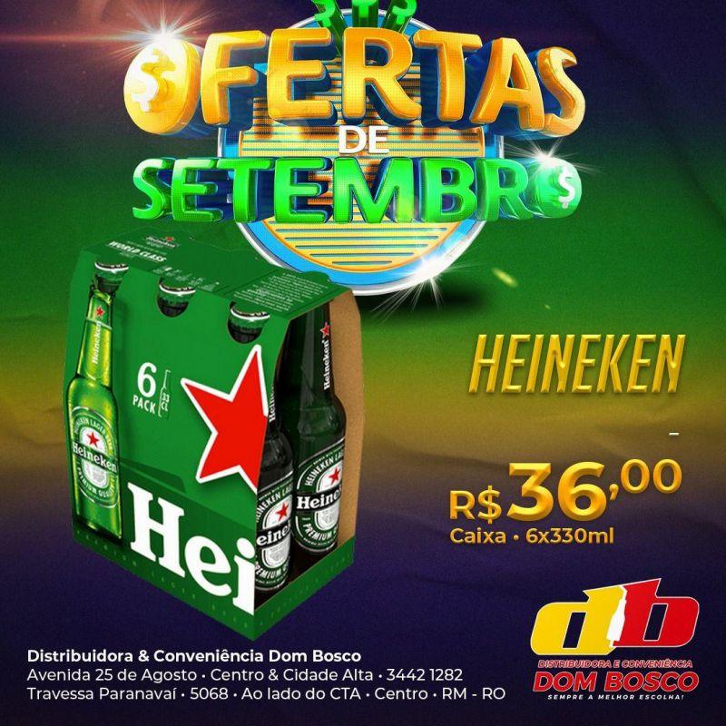 Ofertas de setembro da Distribuidora e Conveniência Dom Bosco em Rolim de Moura
