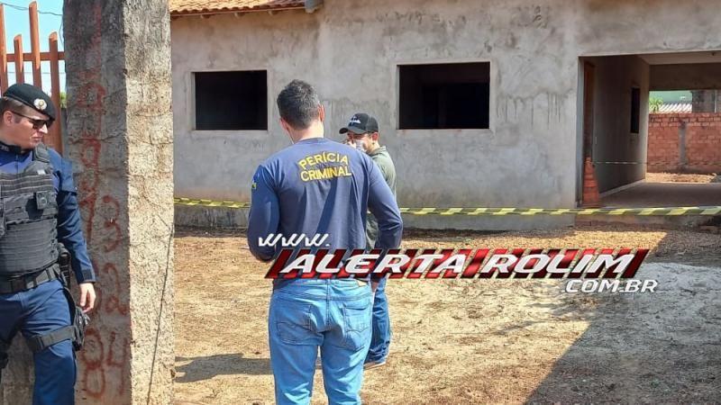URGENTE - Mulher é encontrada morta em construção no bairro Cidade Alta em Rolim de Moura