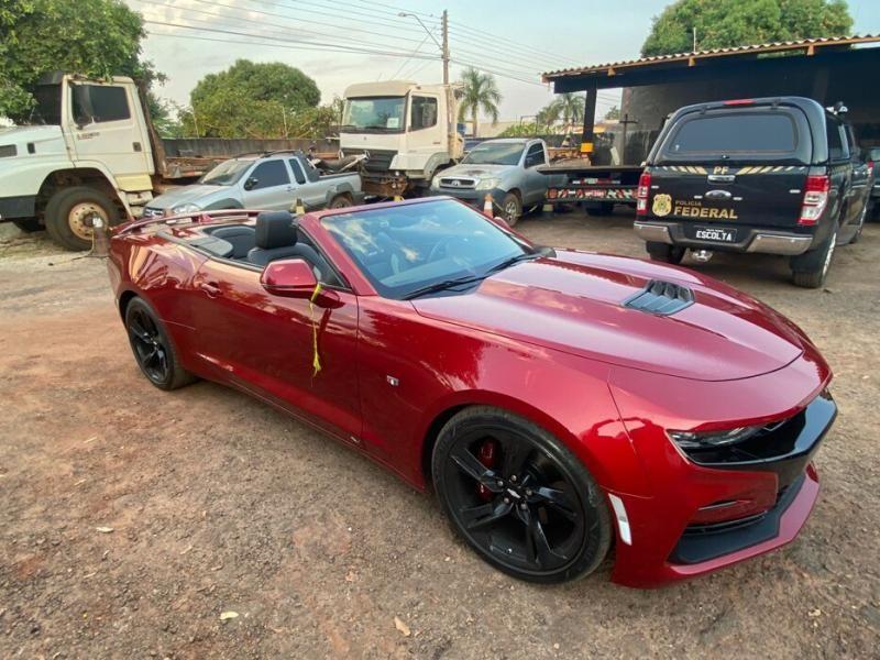 Veja os carros apreendidos pela PF durante a Operação Carga Prensada em Rondônia