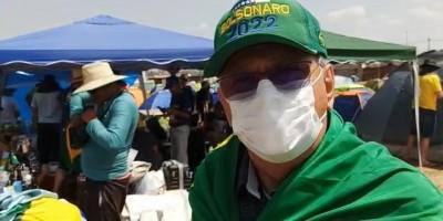 Vice-governador de Rondônia, José Jodan discursa em Brasília pedindo nova Constituição e destituição do STF
