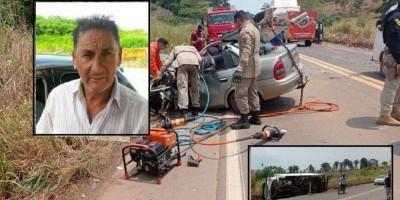 Vítima fatal de acidente na BR-364 ia para São Felipe d'Oeste visitar os filhos
