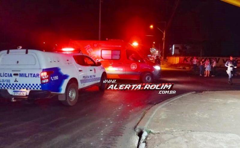 Após acidente entre moto e carro, motociclista acaba preso pela polícia por dirigir embriagado em Rolim de Moura