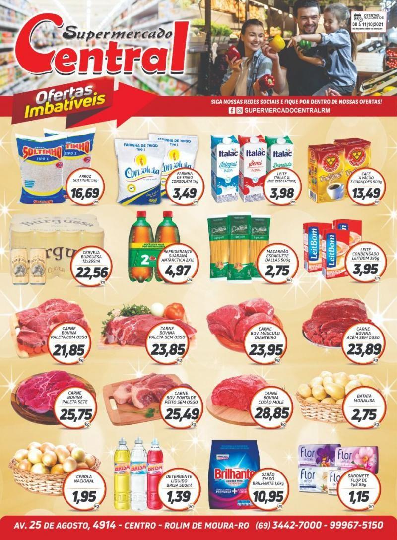 Confira todas as ofertas do Supermercado Central em Rolim de Moura