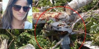Mulher morre atingida por tronco de árvore durante derrubada, na zona rural em Alta Floresta D´Oeste