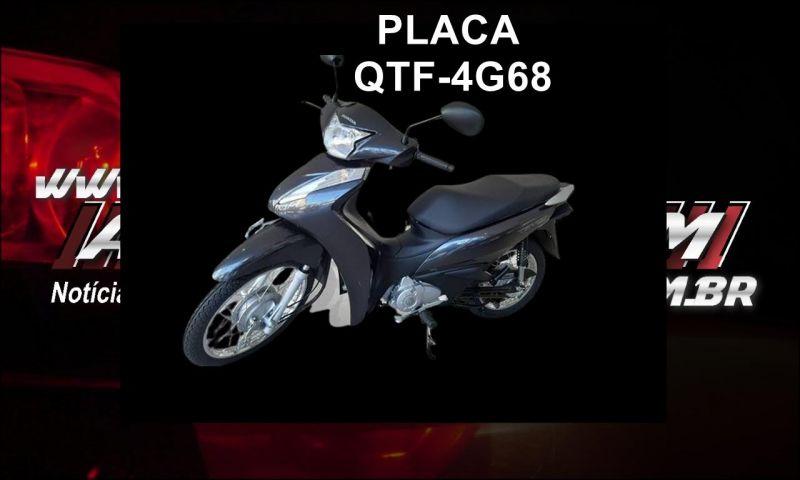 Mulher tem moto roubada enquanto trafegava pelo bairro Planalto em Rolim de Moura