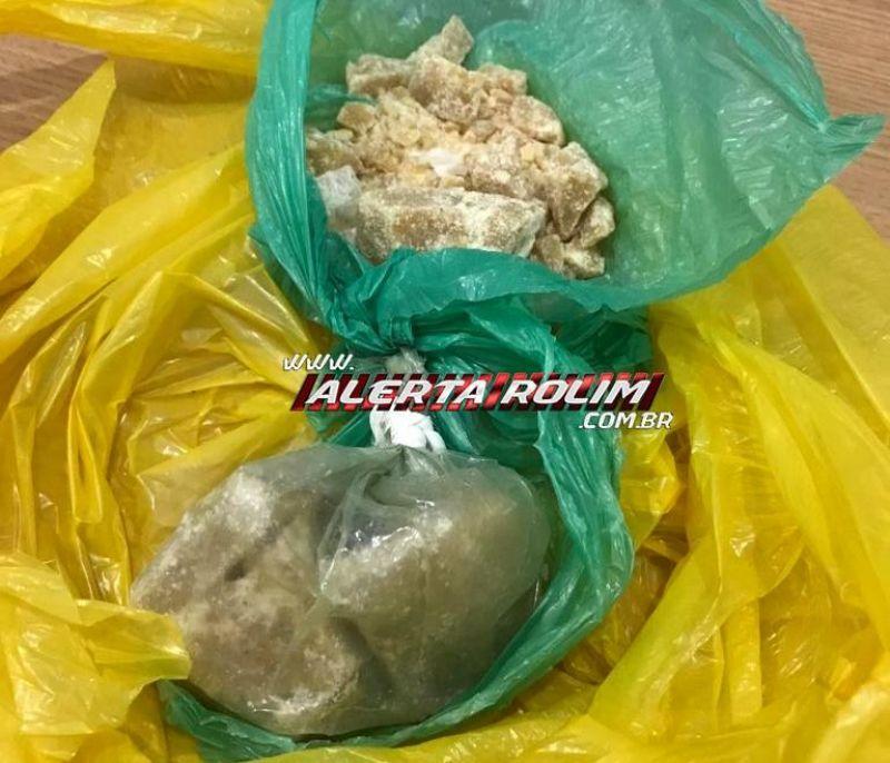 Suspeitos de tráfico de drogas foram presos pela PM em Nova Estrela