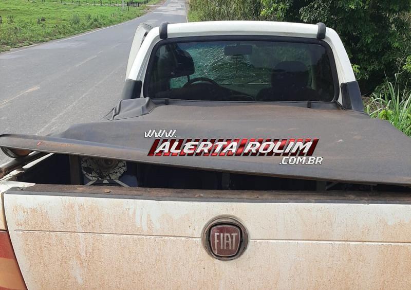 Motociclista perde a vida, após grave acidente na RO-383 entre Santa Luzia e Rolim de Moura; o outro condutor envolvido no acidente fugiu do local sem prestar socorro