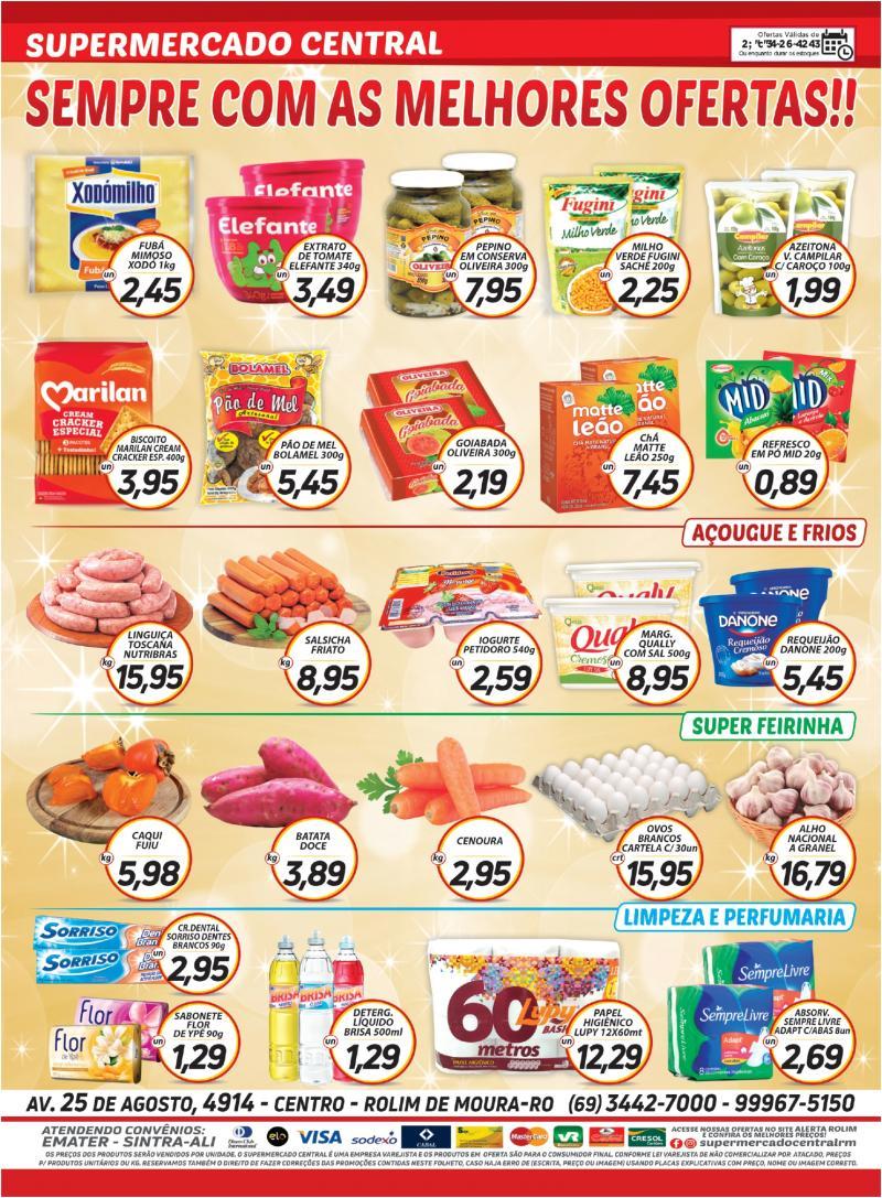 Ofertas Supermercado Central