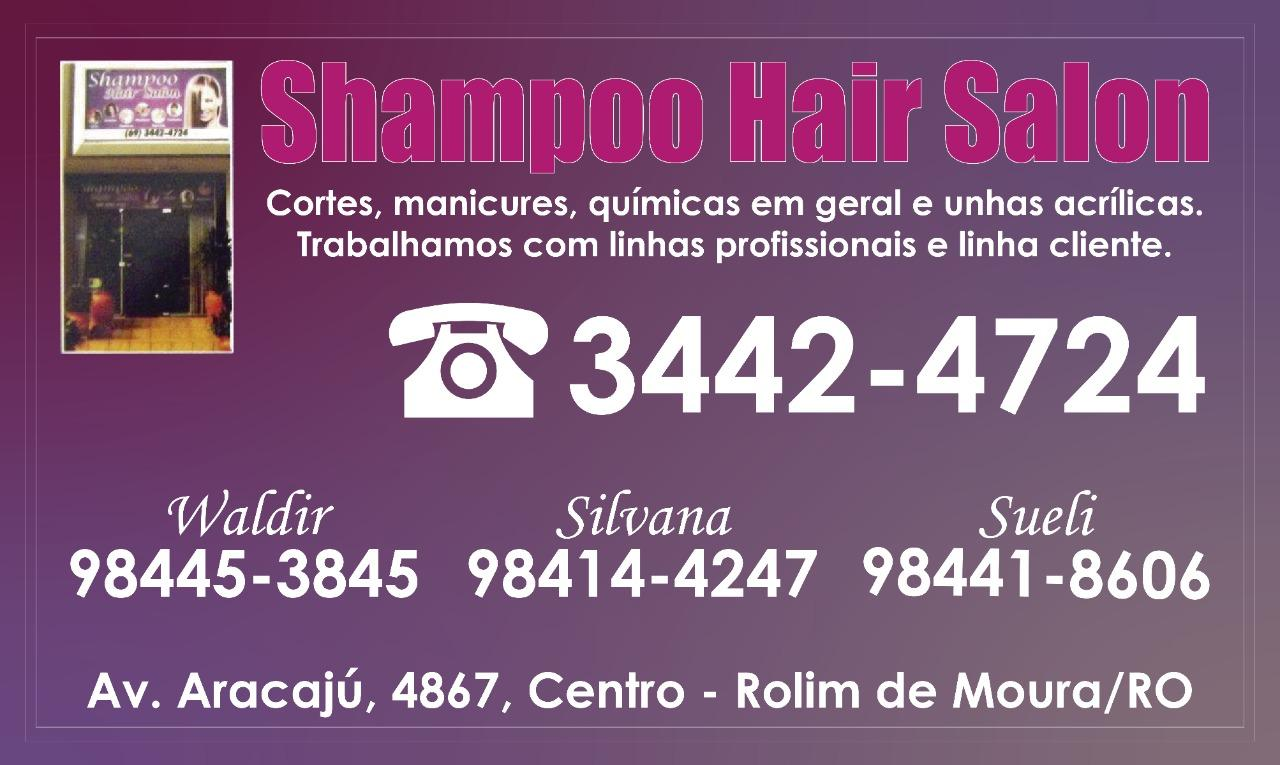 Shampoo Hair Salon